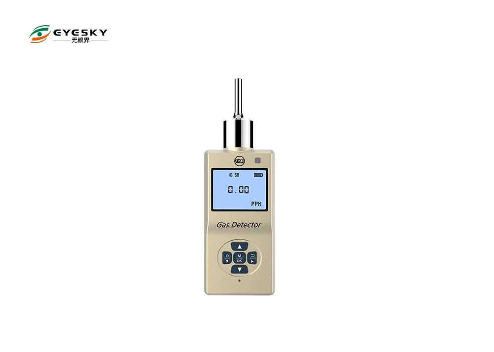 0 . 46Kg Battery Powered Ozone Gas Detector Pump Type LCD Backlight